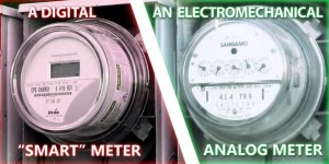 Ετσι περίπου θα είναι ο ψηφιακός smart meter (τέτοιοι είναι εγκατεστημένοι στην Αμερική) που θα αντικαταστήσει τους αναλογικούς μετρητές (μοιάζει με αυτούς) που έχουμε στην Ελλάδα